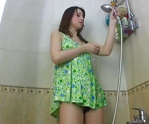 Hairy In Shower Porn